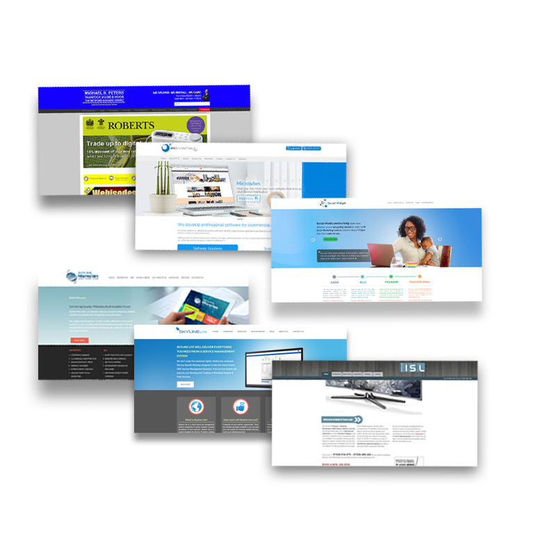 Professionally designed feature rich corporate websites