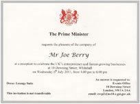 Prime Minister Certificate